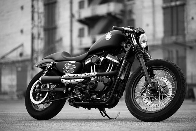 Harley Davidson Sportster XL883 Cafe Project