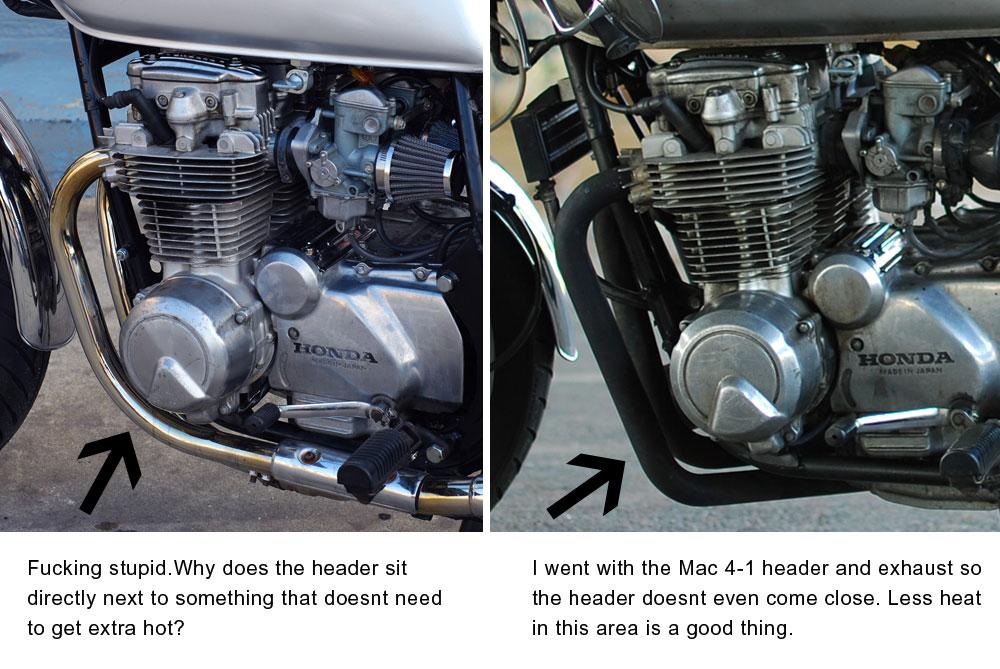 79-82 Honda cb650 charging problems - Chin on the Tank