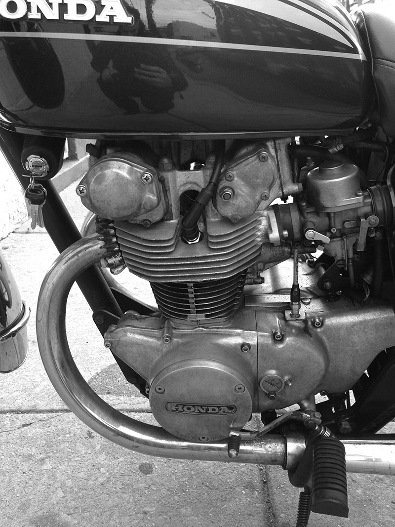 How Cb450 Torsion Bars Work Chin On The Tank Motorcycle Stuff In 1982 Honda Cb450t Electrical Wiring Diagram Its Easier To Make More Power With Dohc Compared Sohc Single Cam Thats Probably A General Statement But Whatever