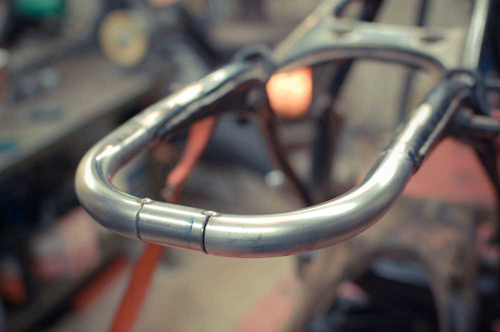 How-to | CB750 Rear Frame Loop - Chin on the Tank – Motorcycle stuff ...