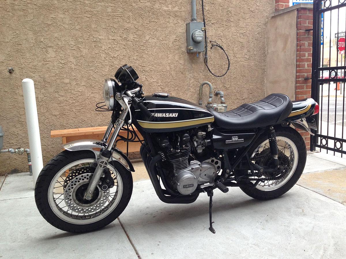 1973 kawasaki z1 – top sd - Chin on the Tank – Motorcycle stuff