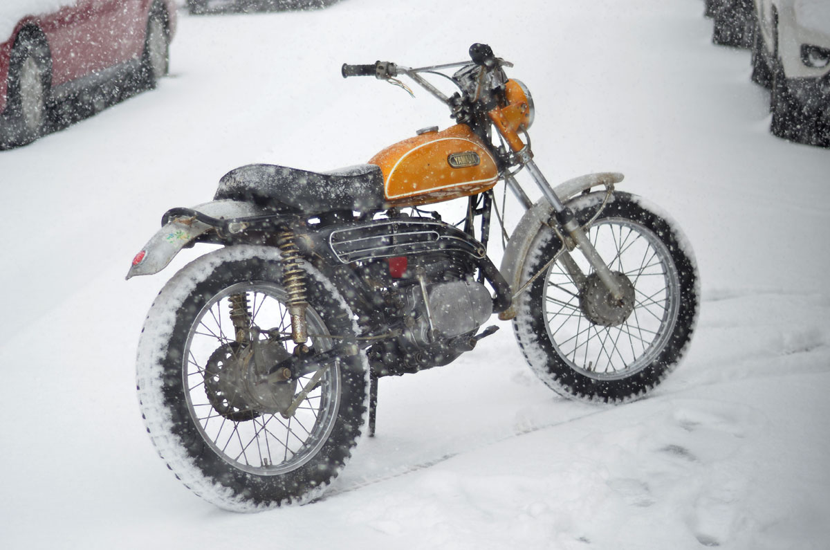 ct1 snow 3 1971 yamaha ct1 175 chin on the tank motorcycle stuff in yamaha ct175 wiring diagram at nearapp.co