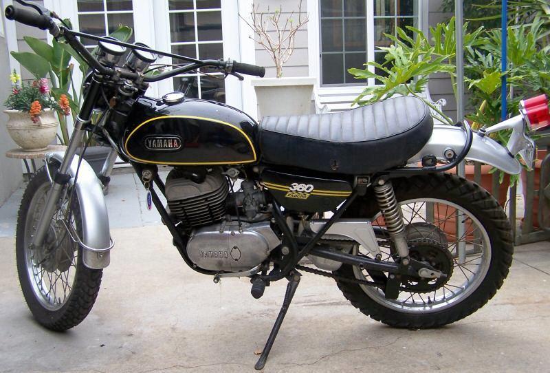 1970 Yamaha 360 Enduro