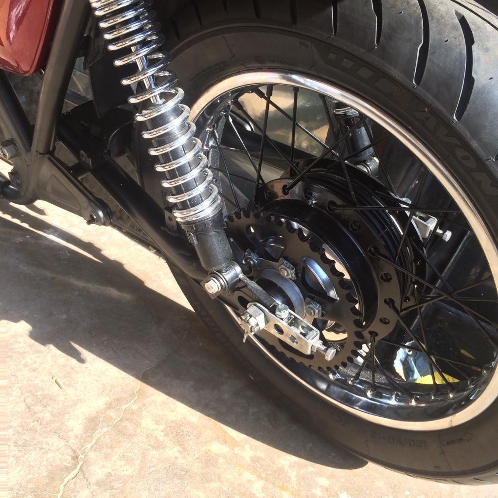 KZ650_rear sprocket