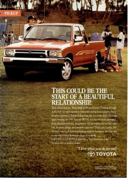 Old Toyota Truck Ads - Chin on the Tank – Motorcycle stuff ...