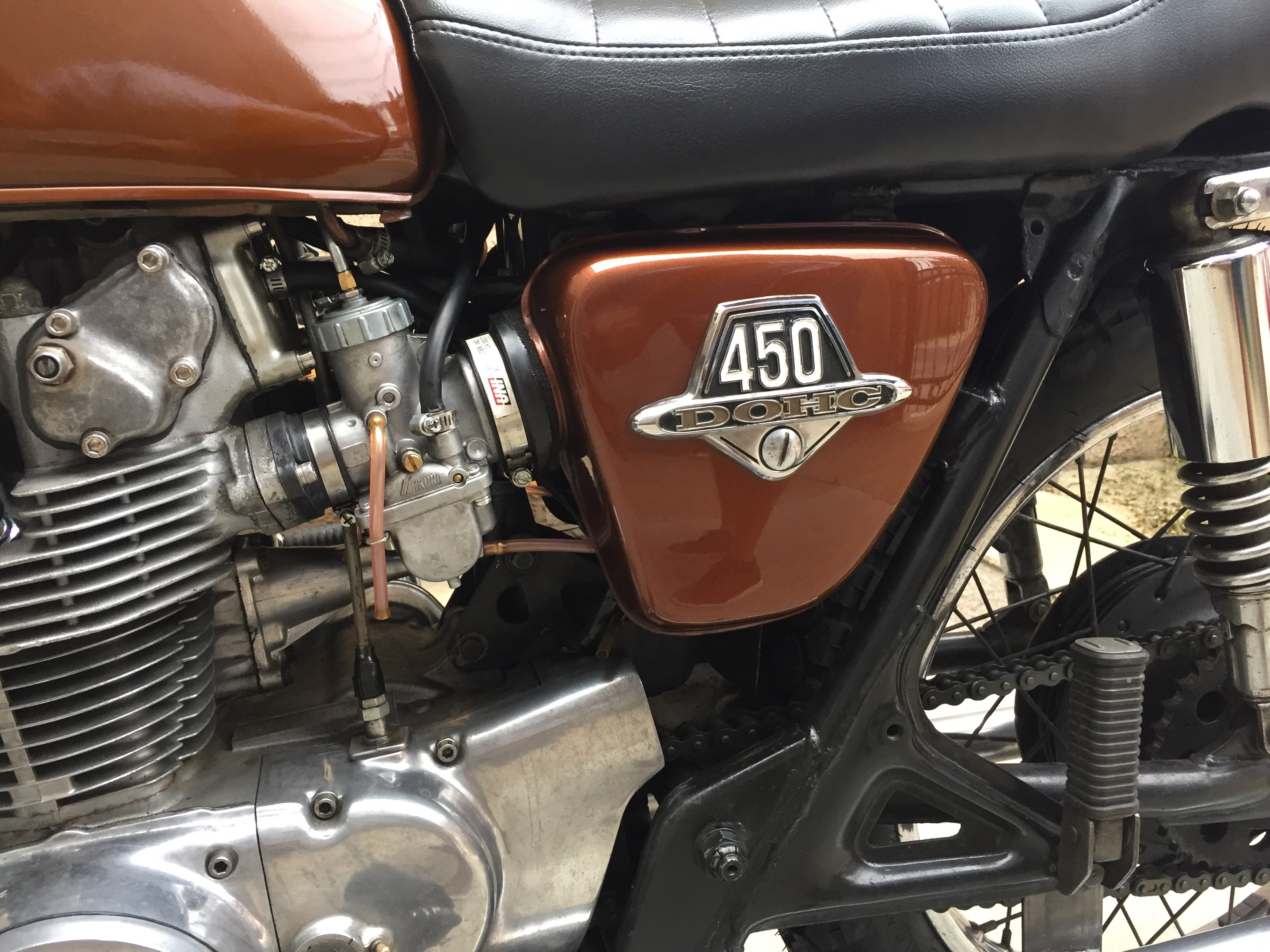Cb450 performance camshaft - Chin on the Tank – Motorcycle stuff in