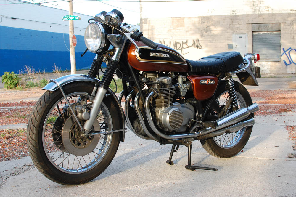 1976 honda cb550 chin on the tank motorcycle stuff in philadelphia brappp. Black Bedroom Furniture Sets. Home Design Ideas