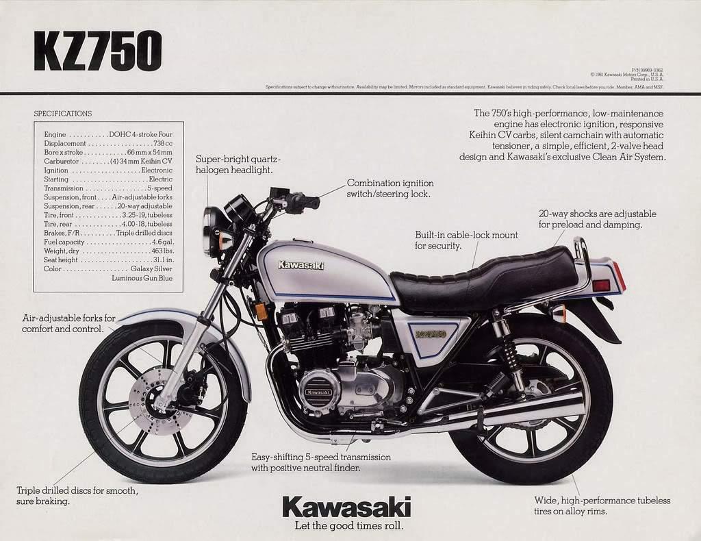 Kawasaki Z7500 81