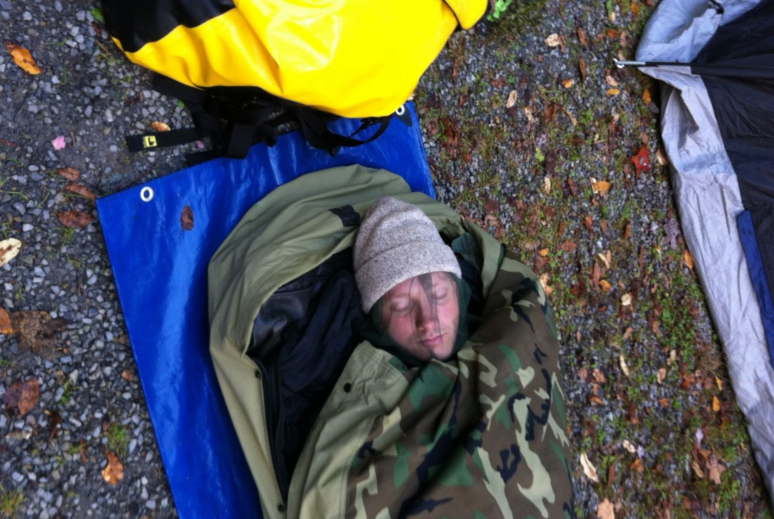 Everyone should own a bivy sack