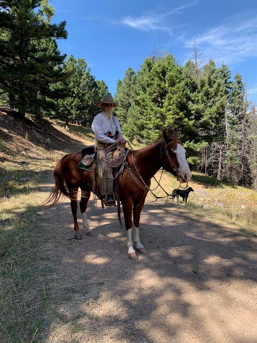 Cowboy Bill - been a cowboy his whole life. Real deal.